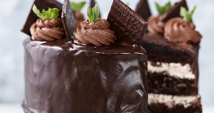 After eight sjokoladekake